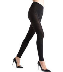 footless wool-blend tights