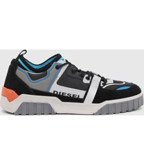 zapatilla le rua s rua sl low sneakers negro diesel