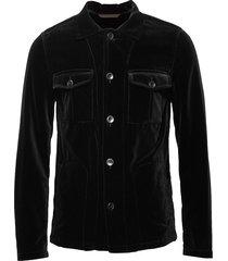 holger shirt jacket overshirt zwart oscar jacobson
