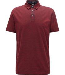 boss men's press 37 regular-fit cotton polo shirt