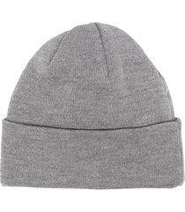 a kind of guise fine knitted beanie - grey