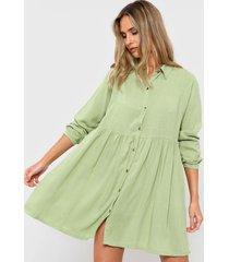 vestido verde nano