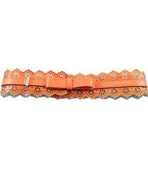 cinturón naranja almacén de paris