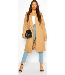 button detail mac trench coat, camel