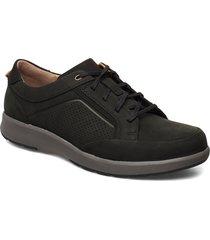 un trail form låga sneakers svart clarks