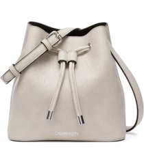 calvin klein gabrianna mini bucket bag
