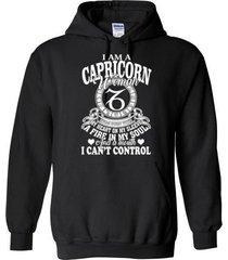 i am a capricorn blend hoodie