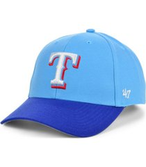 '47 brand texas rangers on field replica mvp cap