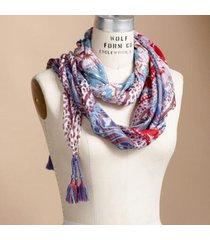 sundance catalog women's foreign bazaar scarf