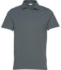 m. lycra polo t-shirt polos short-sleeved zwart filippa k