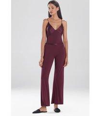 jersey essentials silk pants sleepwear pajamas & loungewear, women's, 100% silk, size l, josie natori