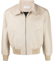 ernest w. baker cotton harrington jacket - neutrals