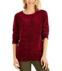 karen scott cotton chenille sweater, created for macy's