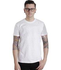 camiseta lucinoze manga curta lisa solf branca