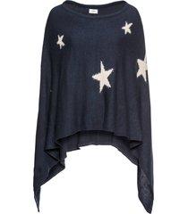 poncho med stjärnor
