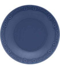 conjunto de 6 pratos fundos 21cm mia mare - multicolorido - dafiti