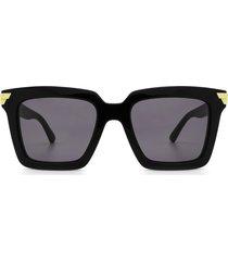bottega veneta bottega veneta bv1005s black sunglasses
