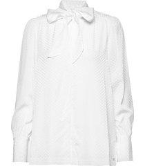 blake blouse ls blouse lange mouwen wit tommy hilfiger