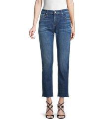rag & bone women's slim-fit cropped jeans - magnus - size 31 (10)