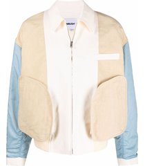 ambush inside out panelled jacket - neutrals
