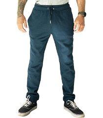 pantalon jogger lettering azul hang loose