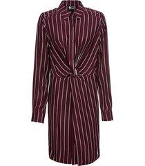 abito chemisier con nodo (rosso) - bodyflirt