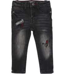 jeans jogg denim high five grafito ficcus