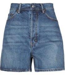 acne studios blå konst denim shorts