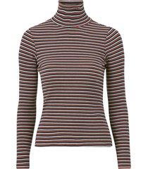 topp ls striped rib tee