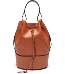 'balloon' leather backpack