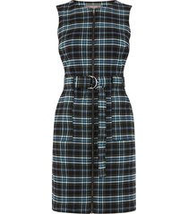 cassie geruite jurk met rits