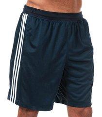 mens 4krft sport heather 3-stripes shorts