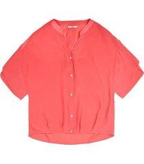 10 feet koraal boxy blouse 780008