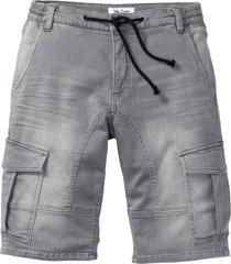 bermuda di jeans regular fit (grigio) - john baner jeanswear