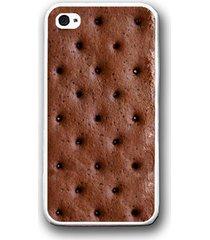 ice cream sandwich funny humor iphone case - rubber silicone iphone 5 case