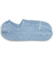 men's bombas marled no-show socks, size large - blue