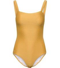 patricia mommy swimsuit structure baddräkt badkläder gul liewood