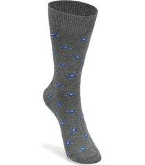 calcetines de algodón gris florsheim