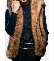 cappotto con cappuccio in pelliccia sintetica con cappuccio in pelliccia sintetica invernale