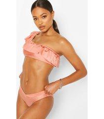 bikinibroekje met v-voorkant, blush