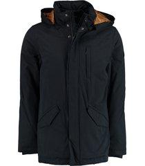 bos bright blue parka jacket 20301de10sb/290 navy