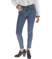 jeans pitillo mujer armenia azul rockford