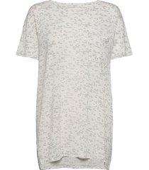 truesleep over d t-shirt in modal top vit gap