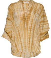majbrit blouse lange mouwen beige rabens sal r