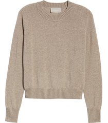 women's everlane the recashmere vintage crew sweater