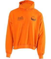 x keinemusik orange hoodie