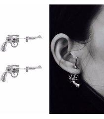 orecchini unisex in argento 925 color oro con perno e orecchini in argento sterling con aghi