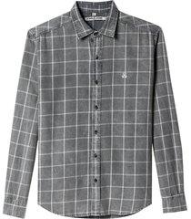 camisa john john edgar algodão xadrez masculina (xadrez, p)