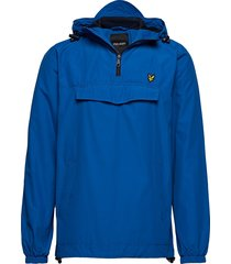 overhead jacket outerwear jackets anoraks blauw lyle & scott
