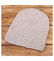 cashmere hat, 'ladakh style' (india)